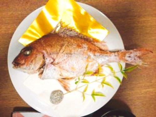 お食い初め 鯛