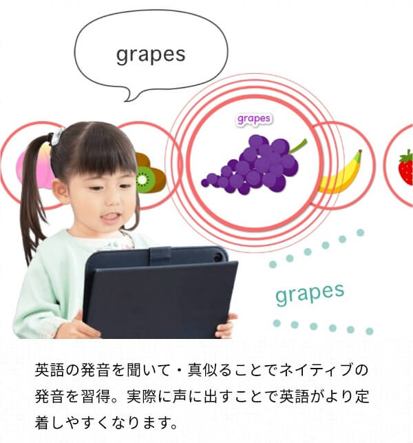スマイルゼミ幼児コース 英語