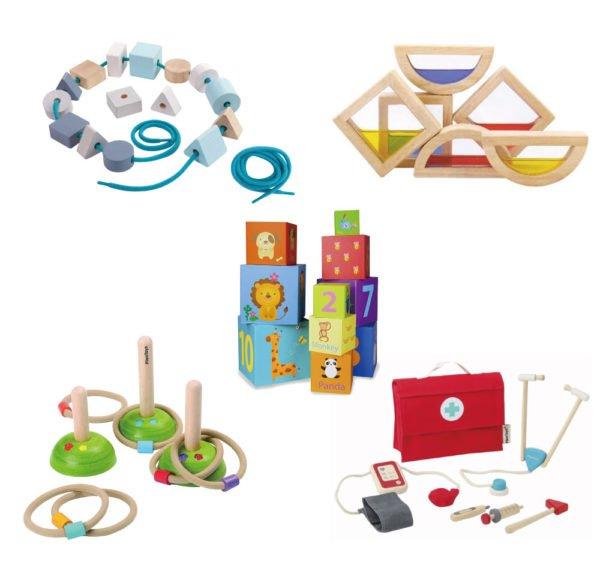 ChaChaCha(ちゃちゃちゃ)の2歳のおもちゃ例